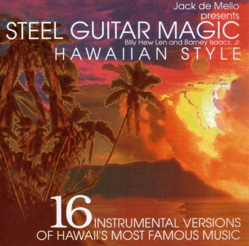 JACK DE MELLO - STEEL GUITAR MAGIC NEW CD
