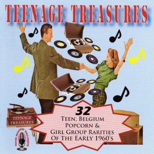 TEENAGE TREASURES / VARIOUS NEW CD