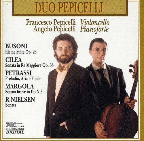 CILEA / F. / PEPICELLI PEPICELLI - SONATA IN RE MAGG OP 38 / SONATA BREVE NEW CD