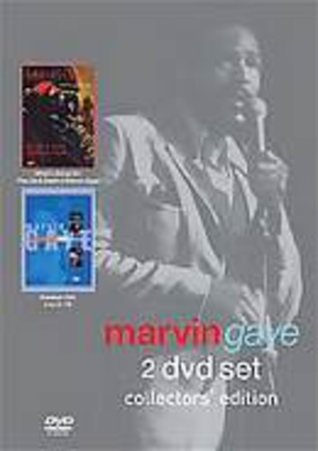 MARVIN GAYE - WHAT'S GOING ON + GREATEST HITS LIVE: COLLECTORS NEW DVD