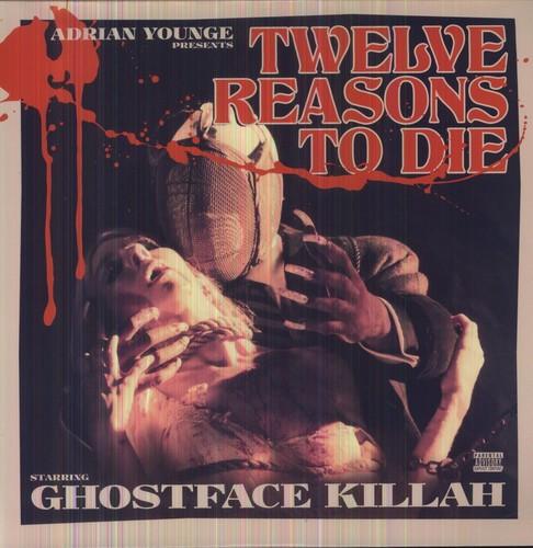 GHOSTFACE KILLAH - 12 REASONS TO DIE NEW VINYL