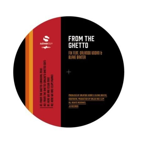 FIX - FROM THE GHETTO / HERE WE ARE NEW VINYL