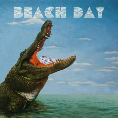 BEACH DAY - TRIP TRAP ATTACK (COLOURED) NEW VINYL