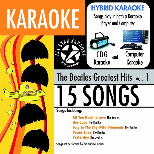 Details about karaoke the beatles greatest hits 1 various new cd