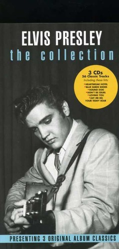 ELVIS PRESLEY - COLLECTION: ELVIS PRESLEY / ELVIS / LOVING YOU NEW CD
