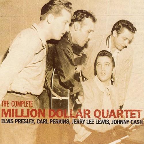 ELVIS PRESLEY / CARL / CASH PERKINS - COMPLETE MILLION DOLLAR QUARTET NEW CD