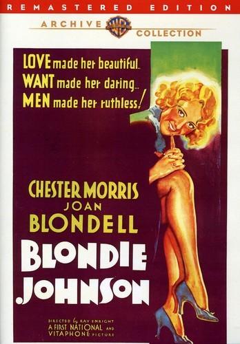 BLONDIE JOHNSON NEW DVD