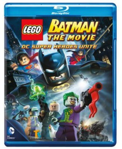 LEGO BATMAN: THE MOVIE DC SUPERHEROES UNITE (2PC) NEW BLURAY
