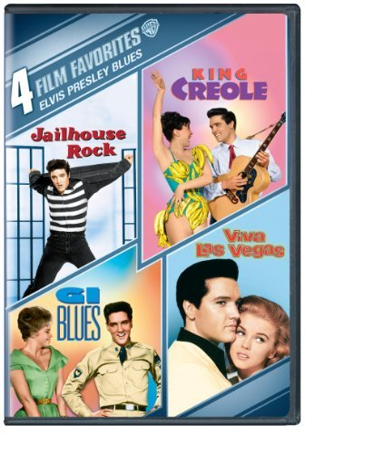 4 FILM FAVORITES - ELVIS PRESLEY BLUES: G.I. BLUES NEW DVD