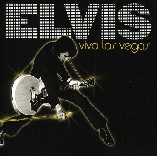 ELVIS PRESLEY - ELVIS VIVA LAS VEGAS NEW CD