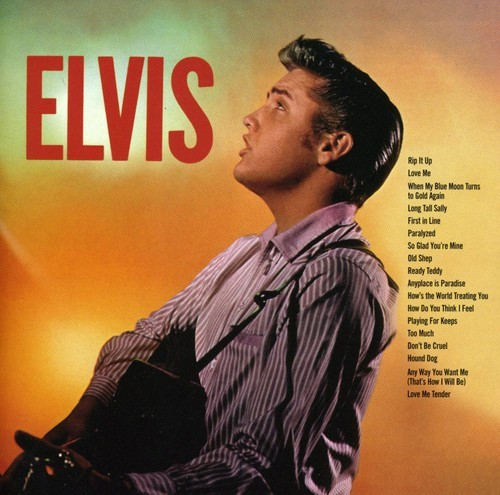 ELVIS PRESLEY - ELVIS NEW CD