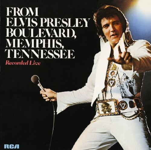 ELVIS PRESLEY - FROM ELVIS PRESLEY BOULEVARD MEMPHIS TENNESSEE NEW CD