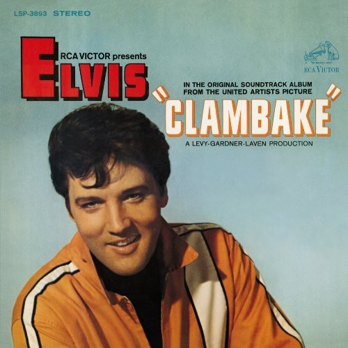ELVIS PRESLEY - CLAMBAKE NEW CD