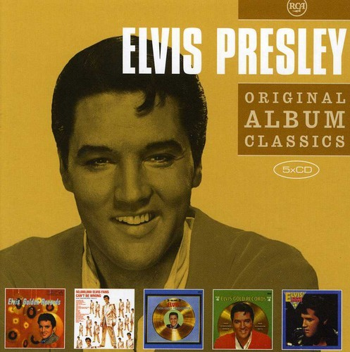 ELVIS PRESLEY - ORIGINAL ALBUM CLASSICS 2 NEW CD