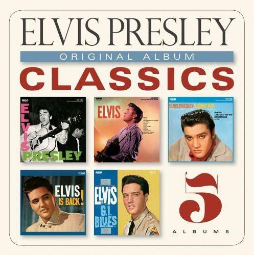 ELVIS PRESLEY - ORIGINAL ALBUM CLASSICS NEW CD
