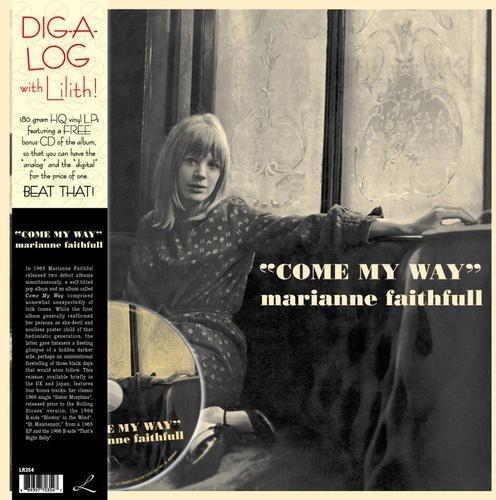 MARIANNE FAITHFULL - COME MY WAY (W/CD) NEW VINYL