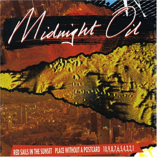 MIDNIGHT OIL - RED SAILS/PLACE WITHOUT/1098 NEW CD
