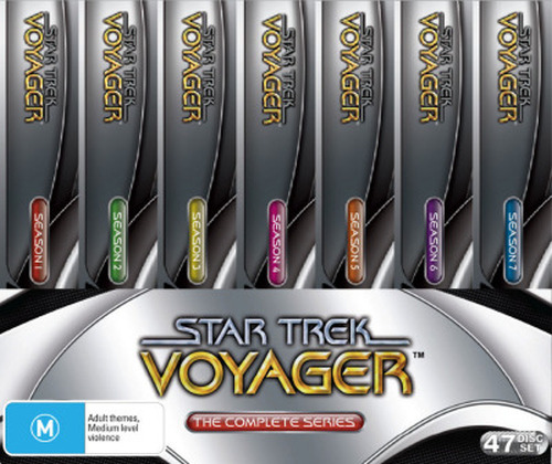 STAR TREK VOYAGER: COMPLETE COLLECTION (2001) NEW DVD