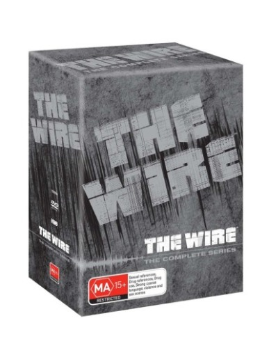 THE WIRE: THE COMPLETE SERIES (24 DISC BOXSET) (2002) NEW DVD